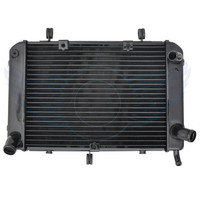 Motorcycle Replacement Grille Guard Cooling Cooler Racing Radiator For Suzuki GSR400 GSR600 2004 2005 2006 2007