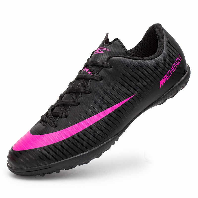 96c85d9f8afcf7 Zhenzu бутсы футбольные детские мужчина женщина футзалки для мини-футбола  futsal shoes футбольная обувь Бутсы