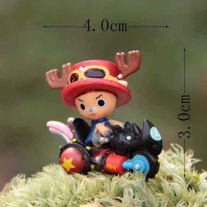 3 - 4 cm de uma peça só Tony Chopper paisagem DIY enfeites de boneca modelo DIY modelo de brinquedo figura de ação coleção decoração