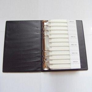 Image 2 - 0805 سمد عينة كتاب 63 القيم 3025 قطعة 5% المقاوم عدة و 17 القيم 700 قطعة مكثف مجموعة