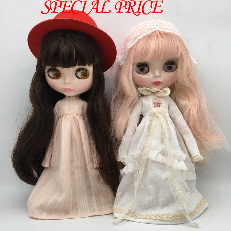 SPECIAL PRICE Top discount DIY Joint Nude Blyth Doll item NO. S1-16 Doll limited gift special price cheap offer toy free shipping top discount 4 colors big eyes diy nude blyth doll item no 7 doll limited gift special price cheap offer toy