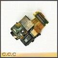 Original para sony xperia z l36h lt36i c6602 c6603 proximidade luz ribbon cable sensor flex com fone de ouvido fone de ouvido áudio jack