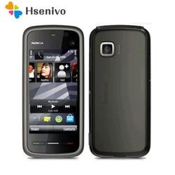 Хит продаж 2016, Классический 5230, 100% Оригинальный разблокированный Nokia 5230XM WCDMA 3G FM Bluetooth, дешевый сотовый телефон, Восстановленный
