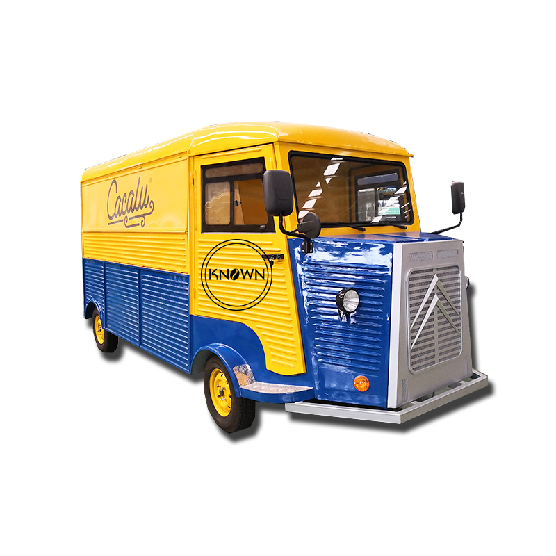 CE Certificated Can Customized Citroen Electric Food Carts/mini Food Truck For Sale/food Cart