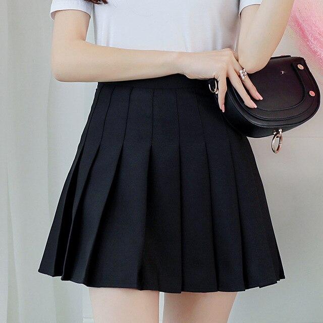 Kpop Schoolgirl Streetwear Skirts