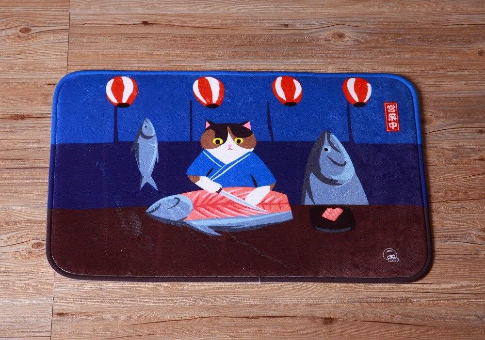 100% Wahr Paysota Niedlichen Cartoon Katze Matte Wohnzimmer Schlafzimmer Teppich Flur Kinder Schöne Rechteck Carpet Clear-Cut-Textur
