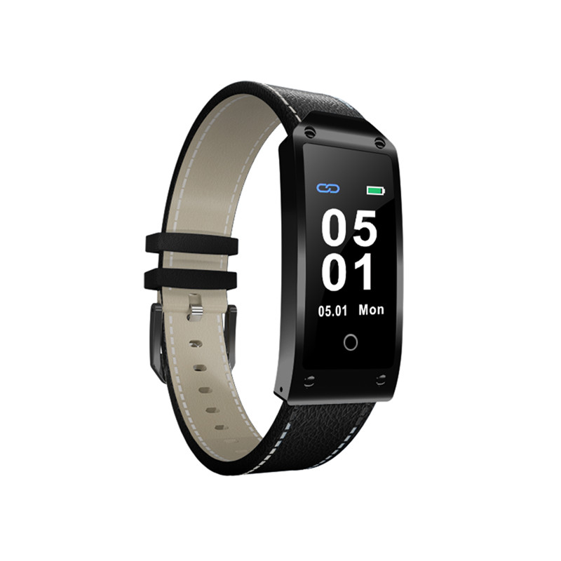 Luxury Sports Smart Bracelet Message Reminder Heart Rate Blood Pressure Monitor Touch Screen Wrist Bracelets Gifts for Men Women r1 dynamic heart rate monitor sports smart bracelet blue