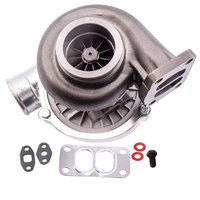 T70 Turbo Turbocharger .70 A/R 4 BOLT Exhaust Downpipe Flange T3 Flange 500+HP .82 A/R T3 Flange Oil Cooled