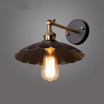 Iron industry classical wall lamps retro simple art loft bedroom bar coffee decoration American industrial retro lamp GY118