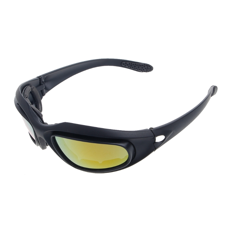 7d9a81fa446e Polarized Motorcycle Lens Sun Glasses Protective Goggles Sports Wrap Riding  Running Cycling Biker Windproof-in Motorcycle Glasses from Automobiles ...