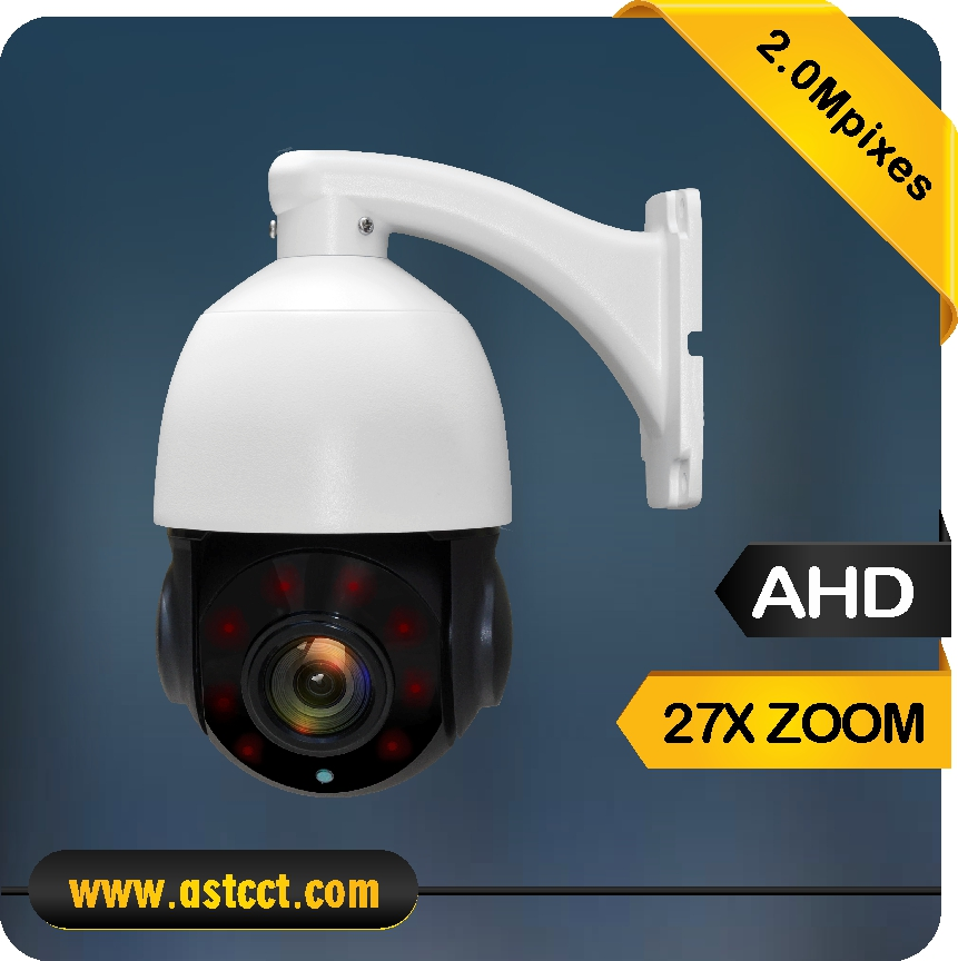 1080P HD High Speed Dome Camera 27x Optical Zoom AHD PTZ Camera Sony 323 Sensor Mini PTZ Camera Support Coaxial Cable Control 4 in 1 ir high speed dome camera ahd tvi cvi cvbs 1080p output ir night vision 150m ptz dome camera with wiper