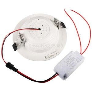 Image 3 - (10 יח\חבילה) RGB 10W 5W LED פנל אור עם שלט רחוק שקוע תקרת מנורה מקורה קישוט צבעוני בית אור