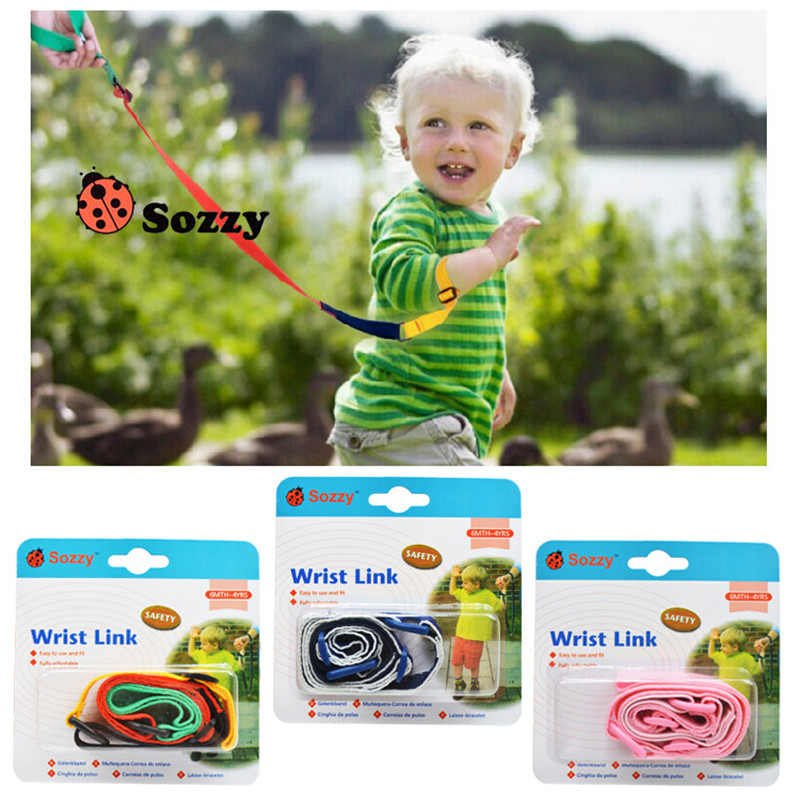 Quality 1m Children's Anti-lost Tape Baby Safety Leash Girls And Boys Toddler Kids Wrist Band Safe
