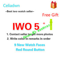 2017 New IWO 3 Smart Watch MTK2502C Smartwatch IWO 2 Upgrade Heart Rate Bluetooth Notifier Music