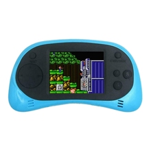 Coolbaby Rs-8A Mini Video Game Console 8 Bit 2.5 Inch Player Built-In 260 Games Accessories For Gba Can Connect To Tv(Blu