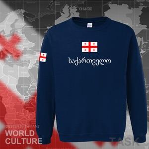 Image 4 - Georgia hoodie mannen sweatshirt zweet nieuwe hip hop streetwear trainingspak natie voetballer sporting land vlag GEO Georgische
