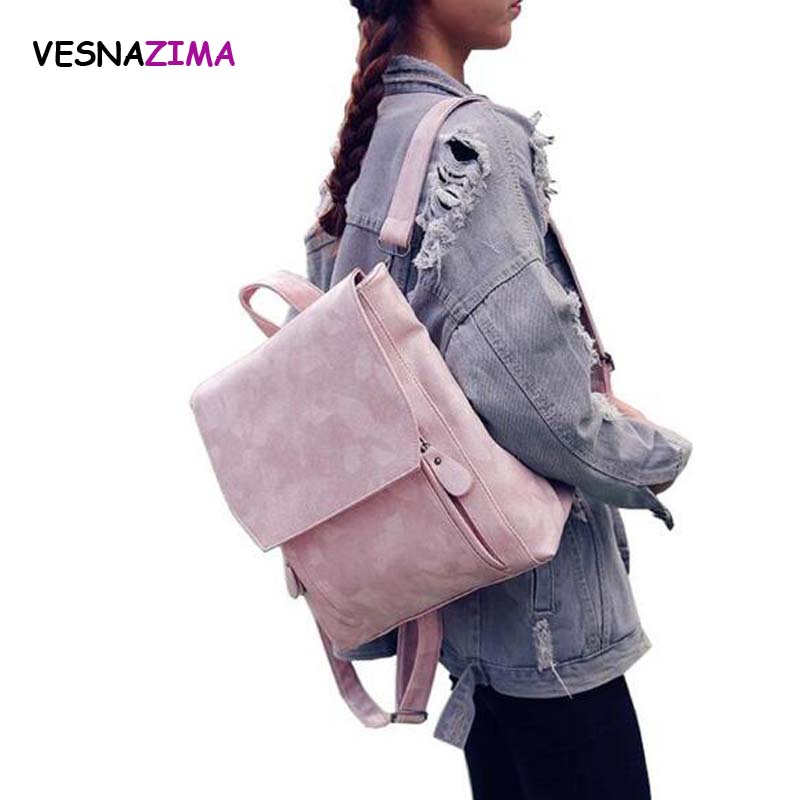 Women Backpack Fashion PU Leather School Bag For Teenager Girls Backpack Stone Print Rucksack Bag WM02X Mochila Escolar Bolsas smart watches c5 smart bracelet dynamic heart rate monitor bluetooth wristband smart sports watch sleep tracker for ios android