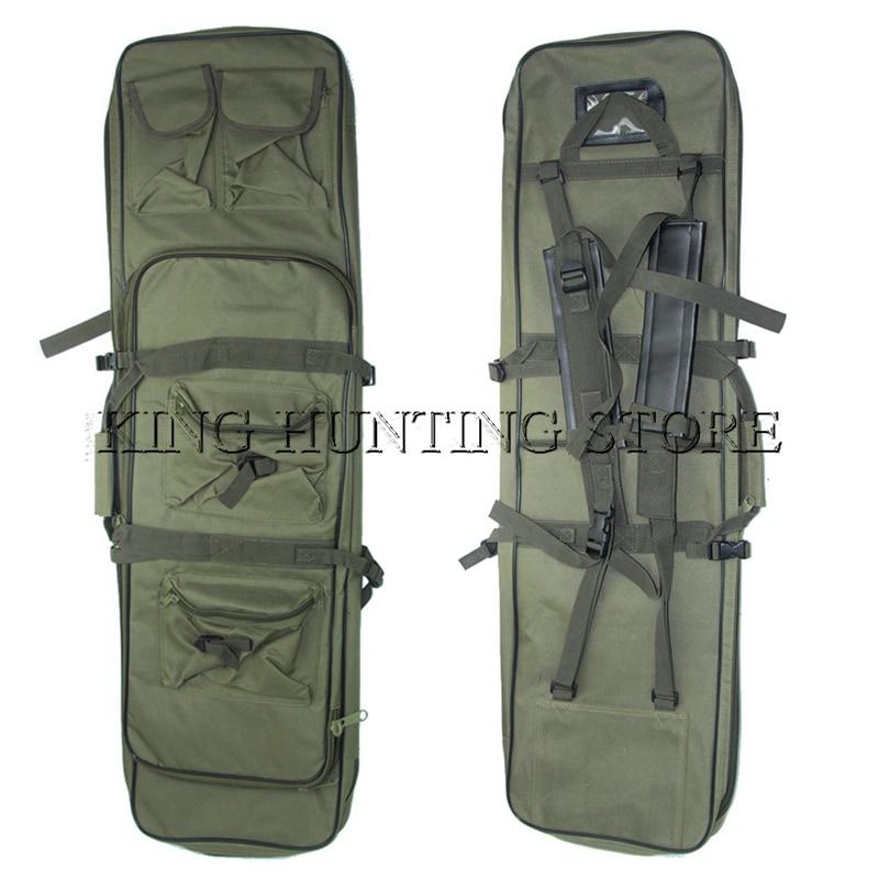 Prix pour 100 cm En Plein Air Chasse Tactique Sac Fusil de Chasse Carré Sac de Transport Gun Protection Sac Cas Camping Sac À Dos