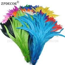 16 ~ 18 дюймов, Размер 40-45 см петушиные перья или Куриные перья