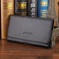 New Men Genuine Leather Waist Bag Pouch Cell/Mobile Phone Cover Case Hip Belt Bum Fanny Pack Waist Bag Pouch