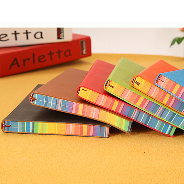 Multi-Coloured Leather Journal