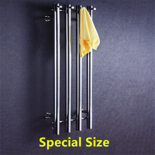 Traditional special size stainless steel 304 vertical heated towel rail radiator towel rack warmer HZ-932Y все цены