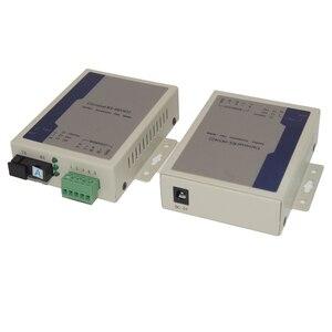Image 4 - Высококачественный Универсальный Двунаправленный конвертер RS485 для передачи данных по оптоволокну SC однорежимный до 20 км 1 пара