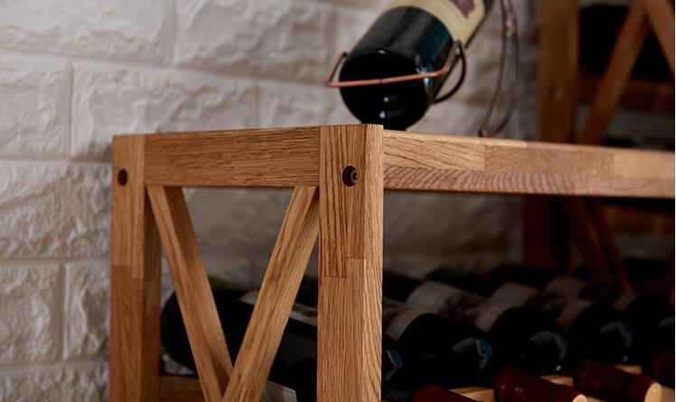 Современный деревянный винный шкаф дисплей полка бар Глобус для домашнего бара мебель дуб дерево 25-40 бутылки винный стеллаж держатели для хранения