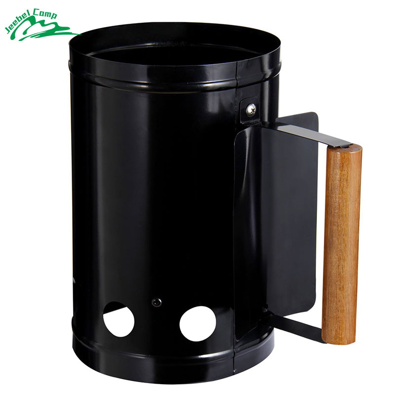 Jeebel Charcoal Starter Portable Barbeque Chimney Fire Starter Ignition BBQ Barbeque Grill Accessories Wood Stove