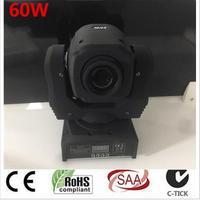 60W LED Spot Moving Head Light Dj Controller LED Lamp Light 60W Gobo Led Moving Head