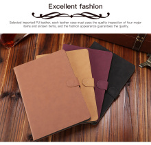 Classic retro parchment Faux Leather apple case Auto Sleep for ipad9.7 2017 2018 cover full protection Cover Shell Cases