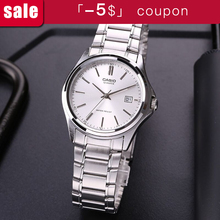 8e6c11c7c38 Relógio casio ponteiro de aço simples calendário de negócios relógio dos  homens  MTP-1183A-7A