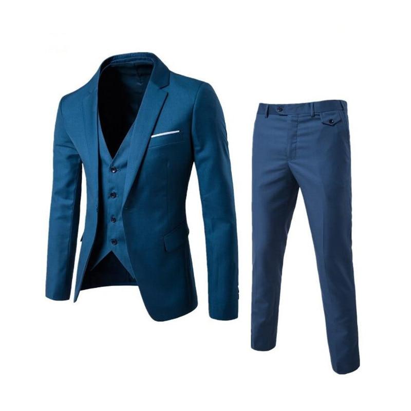 2f74623ea4ed KUSON Stripes Printed Men Suits 2018 Slim Fit Male Suits Short ...