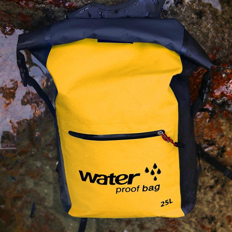 Campeggio Sport Viaggi Trekking 25l Ad Zaino Blue Pieghe Durable Alta Capacità Impermeabile New yellow Ultraleggero Pratico Borse 0OqF0w1