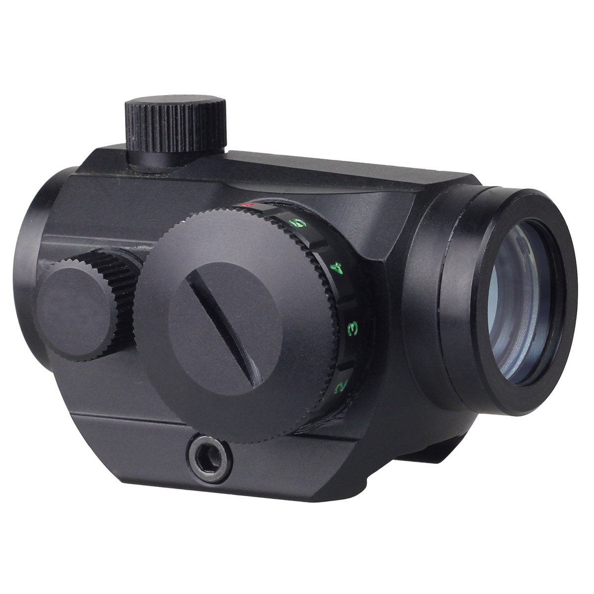 Tactical Red Green Dot Holographic Sight Scope w/ 20mm Weaver Picatinny Rail Mount 20mm for Pistol Gun Hunting Scopes Air Soft