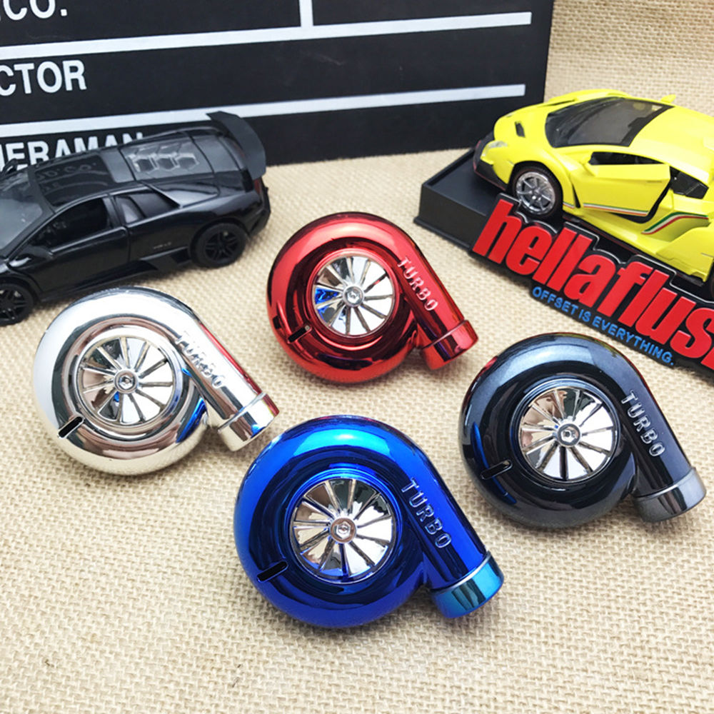 4 Colors Available Turbo Car Air Freshener Auto Air Vent Flavoring 100 Original Perfumes Car styling