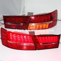 For HYUNDAI SONATA NF LED Tail light 2006 2010 year WH