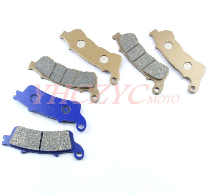 For HONDA NT700 Deauville 2006-2009 motorcycle front and rear brake pads set motorcycle front and rear brake pads for honda vt250fl spada castel 1988 1990