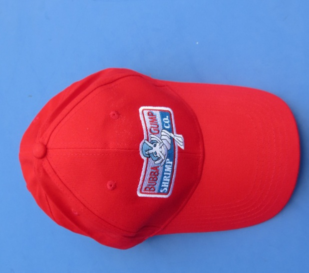 e5dfea38cfb BUBBA GUMP SHRIMP CO. Forrest Gump hats Movies Souvenir fans baseball Polo  cap red adjustable Embroidered sun hat 1994 Classic-in Baseball Caps from  Apparel ...