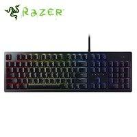 Razer Huntsman Wired Mechanical Gaming Keyboard RGB Backlit Ergonomic Wrist Rest Tactile Switches Keyboard Gaming For PC/Laptop
