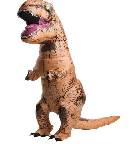 INFLATABLE Dinosaur Costume  World Park Blowup Dinosaur Halloween Inflatable costume Party costume for adult SIZE