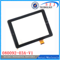 New 8'' inch for Explay Surfer 8.31 3G 080092-03A-V1 F0603X touch screen panel 197x148mm glass sensor replacement Free shipping
