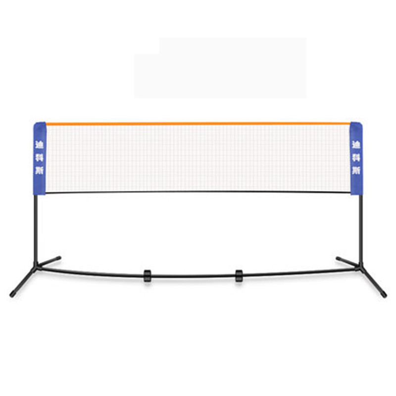 New 2 1m 6 1m Portable Badminton net and rack Removable Foldable Badminton Net Stand Width