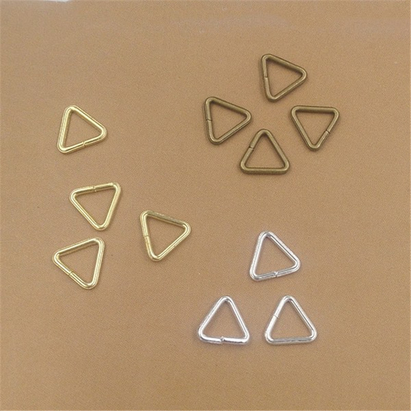 100pcs Triangle Loops Jump Rings 5x0.7mm 10x1mm Split Rings Jewelry Connector Findings Accessories for Jewelry Making100pcs Triangle Loops Jump Rings 5x0.7mm 10x1mm Split Rings Jewelry Connector Findings Accessories for Jewelry Making