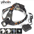 NEW  LED Head Lamp Light Lantern XM-L T6 2000 Lumens Rechargeable 3Mode Headlamp Headlight Outdoor Riding Lamps+Charger