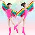 2016 Princess Multicolor Angel Bird Costume Fancy Dress Dirndl School Uniform Halloween Christmas For Baby Girls Kids