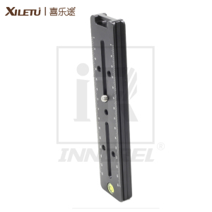 Image 3 - XILETU LCB 18 Lengthened Quick Release Plate 180mm Nodal Slide Rail Long Multifunctional Universal Tripod Head Clamp Extender