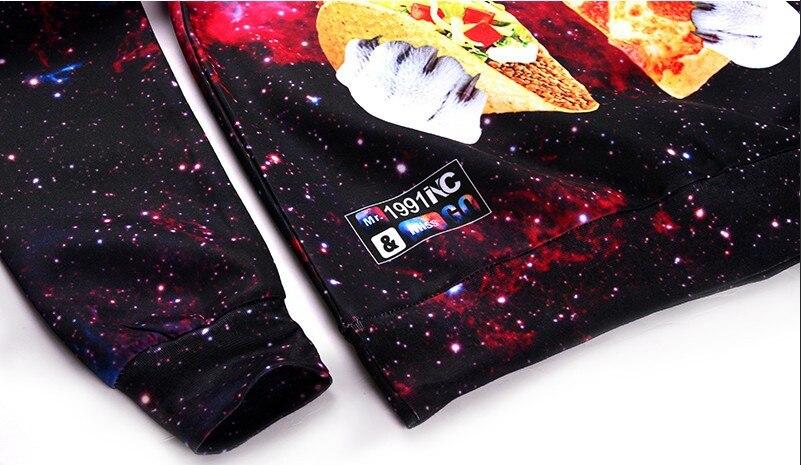 HTB1gr3qPFXXXXcYXpXXq6xXFXXXU - 3d sweatshirts for Women both side print Cats eat pizza sweatshirt