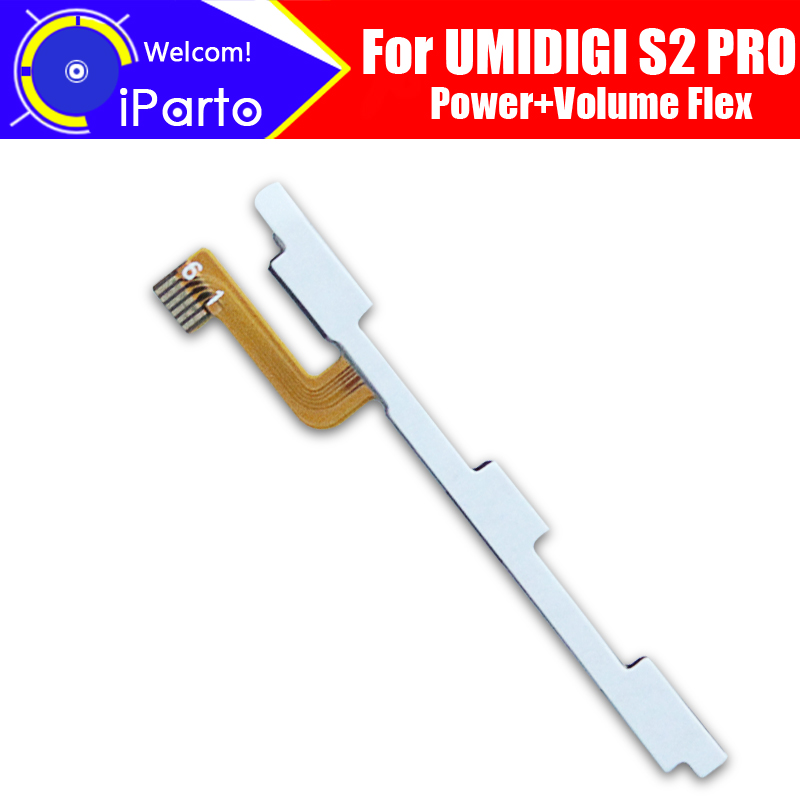 UMIDIGI S2 PRO FPC Flex Kabel 100% Original Power + Lautstärke Taste FPC Draht Flex Kabel reparatur zubehör für UMIDIGI s2 PRO