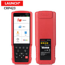 LAUNCH CRP423 X431 OBD2 Auto Code Reader Scanner support Engine/ABS/Airbag/AT OBD 2 CRP 423 free update diagnostic tool CRP123(China)